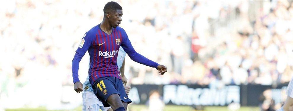 Dembélé está en un cambio de cromos sorpresa en el Barça