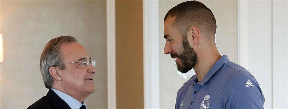 La reunión de Benzema que le estalla a Florentino Pérez en la cara