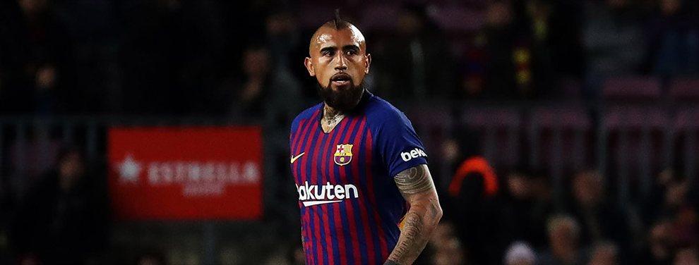 Arturo Vidal tiene ofertas para dejar el Barça. El chileno ha llamado la atención del Liverpool de Jürgen Klopp