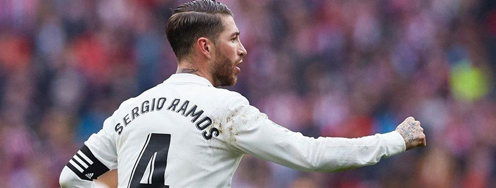 Si está Sergio Ramos, no va: el galáctico que planta a Florentino Pérez