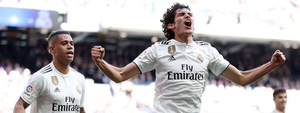 El efecto dominó en el que está metido Jesús Vallejo en el Real Madrid