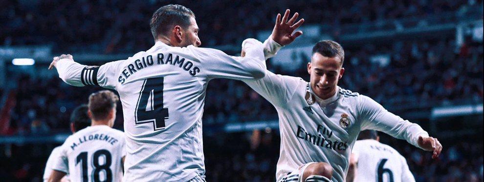 Lucas Vázques y Sergio Ramos ya lo saben. Marcelo saldrá del Real Madrid y Achraf Hakimi ocupará su puesto