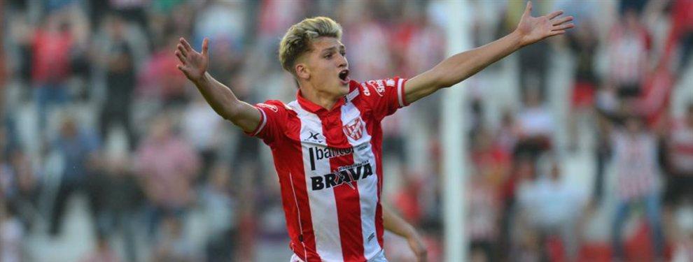 Mateo Klimowicz jugará en el Stuttgart de la Bundesliga. Misma competición donde jugó su padre Diego durante ocho años.