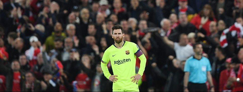 El Barcelona de Messi perdió 4 a 0 con Liverpool y quedó eliminado de la Champions League.