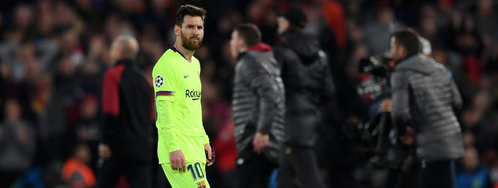 Se ofrece al Barça. Y Messi veta su llegada. Lío en el Camp Nou