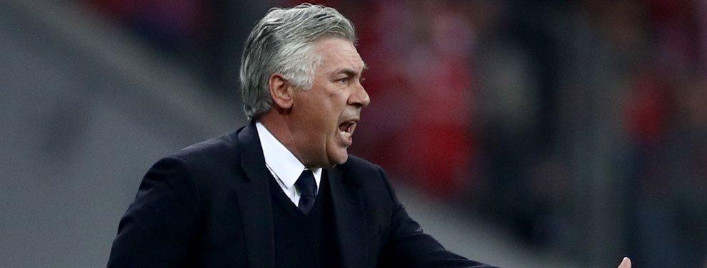 Ancelotti se lleva a un jugador del Real Madrid al Napoli