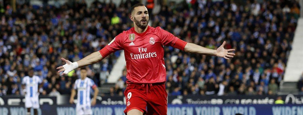 Benzema le dice a Zidane que titular del Barça no soporta a Messi