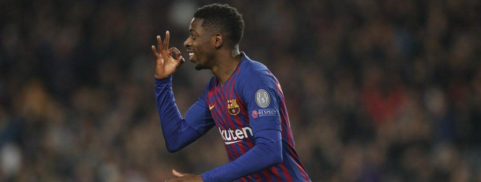 Ousmane Dembélé arrasa a Messi y Luis Suárez en una confesión que incendia el Barça