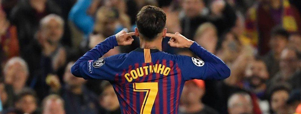 Philippe Coutinho guarda un secreto que no gusta ni un pelo en el Barça: no hace lo más mínimo por recuperar su nivel