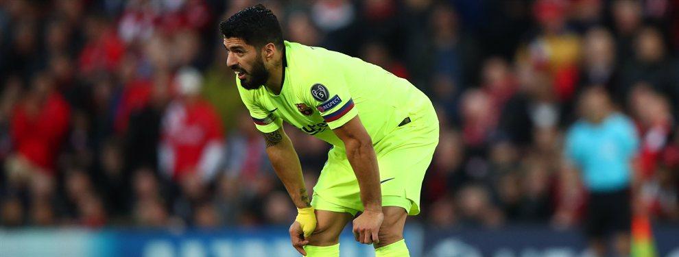 Luis Suárez señala al culpable del ridículo del Barça en la Champions