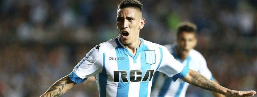 Racing maneja el nombre de cuatro futbolistas para reemplazar a Centurión, que se irá del club.
