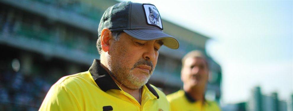 Diego Maradona habría decidido continuar una temporada más como entrenador de Dorados.