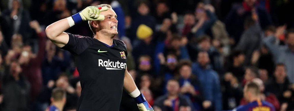 Jasper Cillessen se marchará a la Juventus de Turín, dejando hueco a Wuilker Faríñez, que podría llegar al Barça