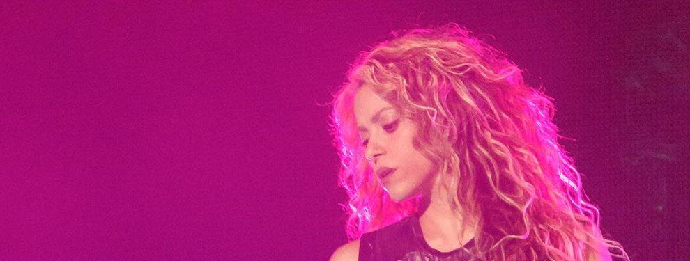 Mira como Shakira consuela a Piqué después de la derrota