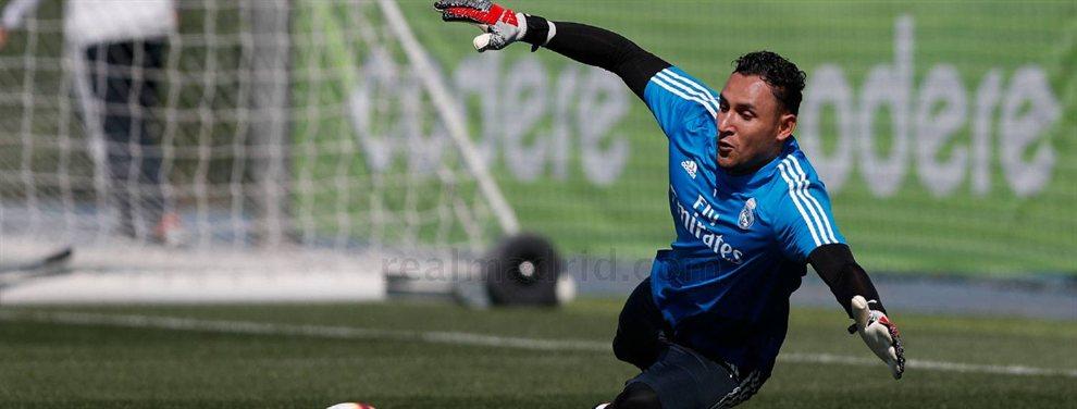 Keylor Navas quiere salir del Real Madrid, pero no lo tendrá fácil, pues no le llegan ofertas convincentes