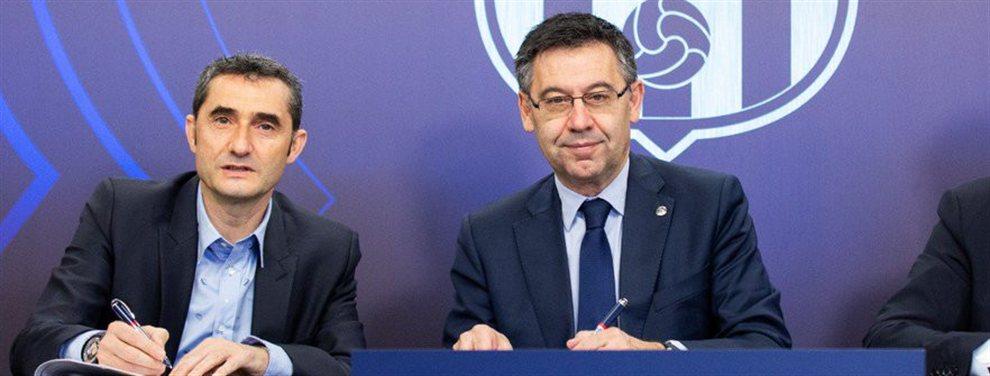 El segundo varapalo consecutivo en Champions League ha llevado a la directiva del Barça a plantearse la destitución de Valverde