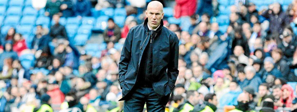 Huye de Zidane: fuga en el Real Madrid (y es un ídolo de la afición)