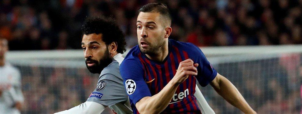 El Barça escoge al suplente de Jordi Alba (y hay sorpresa gorda)