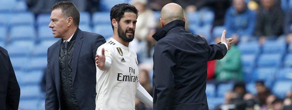 Zinedine Zidane ha traicionado a Luka Modric, que anda con un mosqueo tremendo y quiere salir del Real Madrid