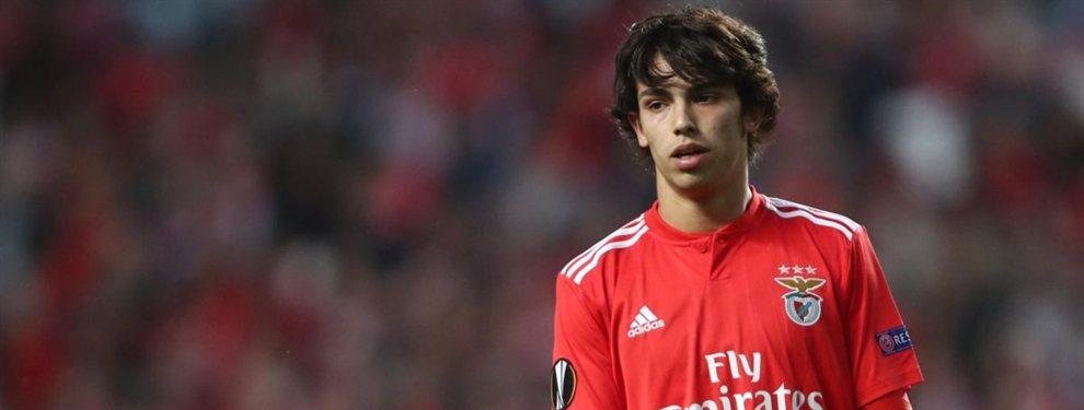 El codiciado Joao Félix, sorprendentemente, ha rechazado a Barça, Real Madrid y Manchester City para seguir en el Benfica