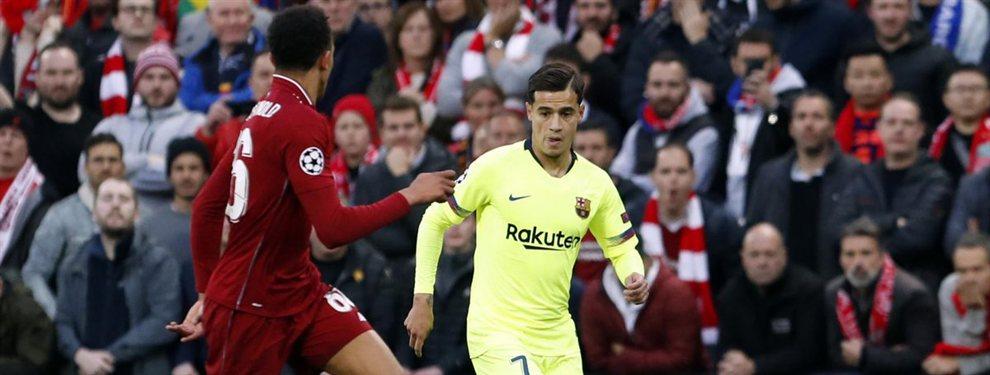 Philippe Coutinho podría facilitar el desembarco de Antoine Griezmann en el Barça entrando en un cambio de cromos