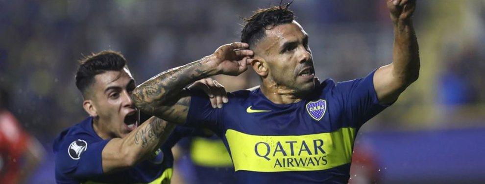 Boca, con un Tevez estupendo, le ganó 2 a 1 a Atlético Paranaense y terminó primero en su grupo.