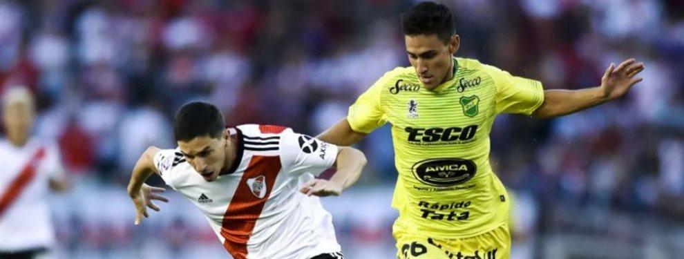 El Chacho Coudet apostaría por Matías Rojas para reforzar la mitad de la cancha de Racing.