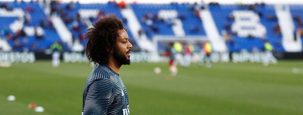 Zidane había pedido un jugador para poner competencia a Marcelo, pero no llegará.