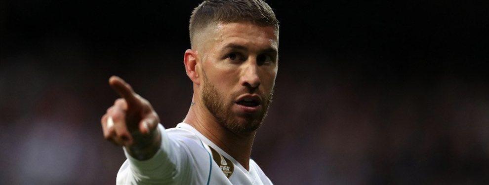 Sergio Ramos ya le ha comentado a Zidane quien quiere que sea el sustituto de Raphael Varane.