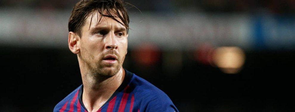 Messi señala la manzana podrida del Barça (y no es Valverde)