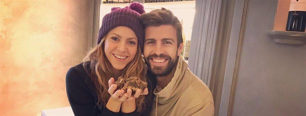 Shakira y Piqué se dejaron ver por las playas de Barcelona, en la que muestran unas figuras algo descuidadas
