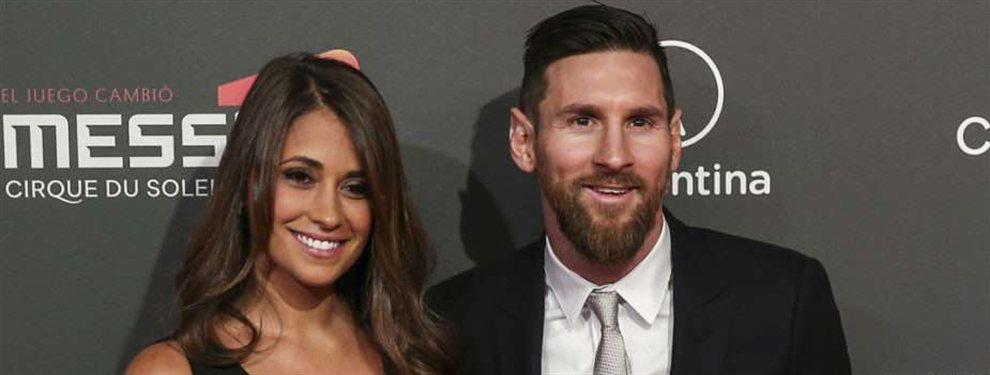 Antonella colgó una fotografía en la que se ve a Messi durmiendo junto a su hijo, lo que ha sorprendido a todos