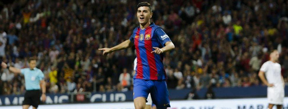 Marcelo Bielsa pretende incorporar en el Leeds a Rafa Mujica, delantero del Barcelona B.