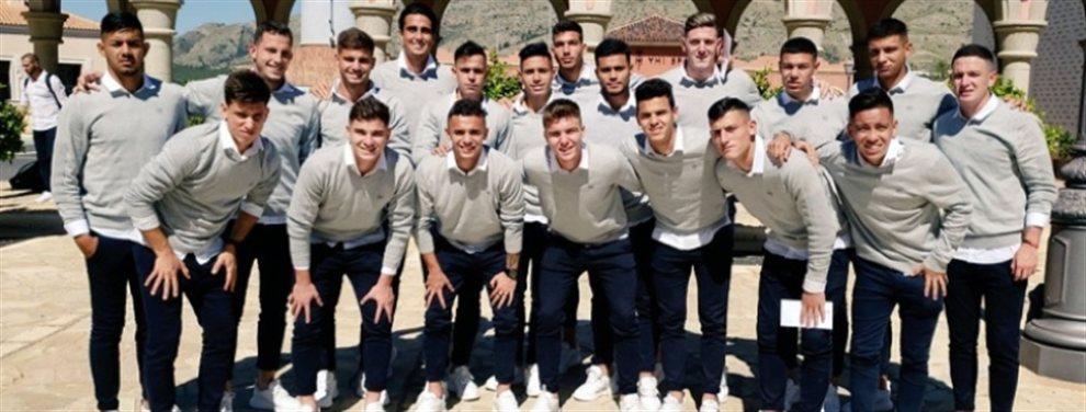 La Selección Sub 20 de Fernando Batista se prepara para enfrentarse ante el Villarreal.