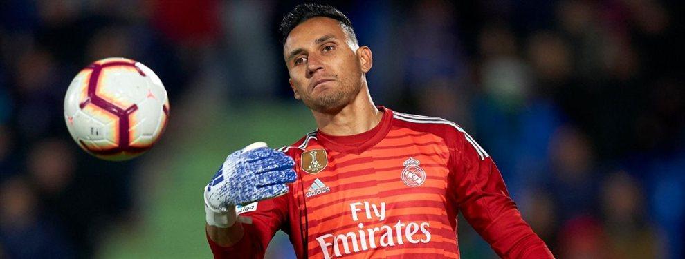 El Real Madrid le ha comunicado a Keylor Navas que no cuenta con él y tiene hasta cinco ofertas