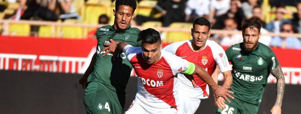 Radamel Falcao saldrá del Mónaco este verano y podría acabar de vuelta en España, concretamente en el Valencia