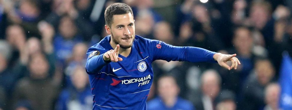 Hazard llega con bomba: se lo carga. Florentino Pérez tiene un problema
