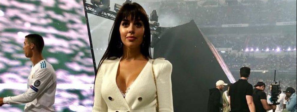 Georgina Rodríguez causa furor en las redes. En la última foto, tuvo un descuido enorme, dejándose los bolsillos por fuera