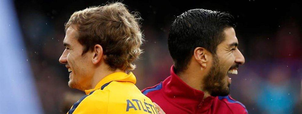 Alexandre Lacazette no ha dudado en ofrecerse al Barça para ser el relevo de Luis Suárez si Griezmann no llega