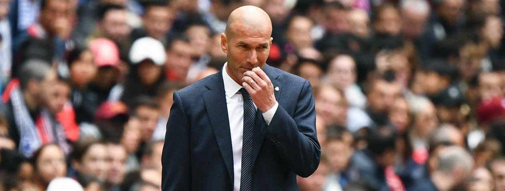 Pillan a Zidane: Benzema, Sergio Ramos y Marcelo lo tapan (y es muy feo)