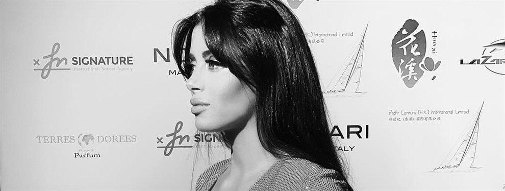 La Semaan destaca por ese misterio con el que miran sus ojos verdes y por un origen libanés que aumenta más si cabe su atractivo