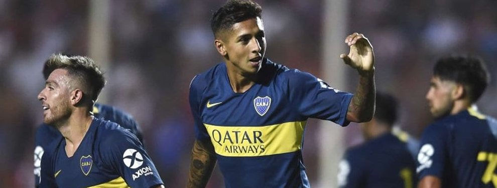 El Napoli pagaría 29 millones dólares por el volante de Boca, Agustín Almendra. ¿Se dará?