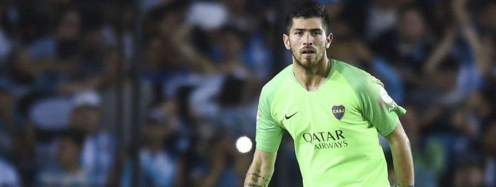 Lanús pretende incorporar al ex arquero de Boca, Agustín Rossi, para la próxima edición de la Superliga.