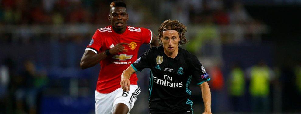 Romelu Lukaku saldrá del Manchester United a final de curso para unirse al Inter de Milán, donde coincidirá con Modric