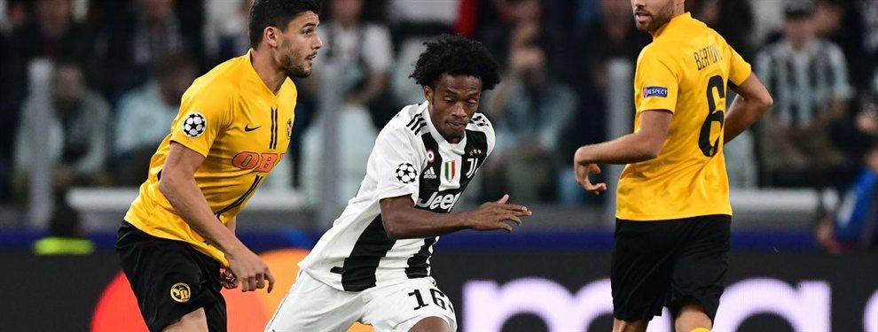 Juan Cuadrado saldrá de la Juventus de Turín el año que viene para jugar en la Fiorentina. Puede entrar en la operación por Federico Chiesa