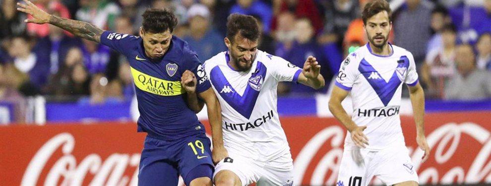 Boca y Vélez preparan a sus equipos para el duelo de mañana por la Copa de la Superliga.