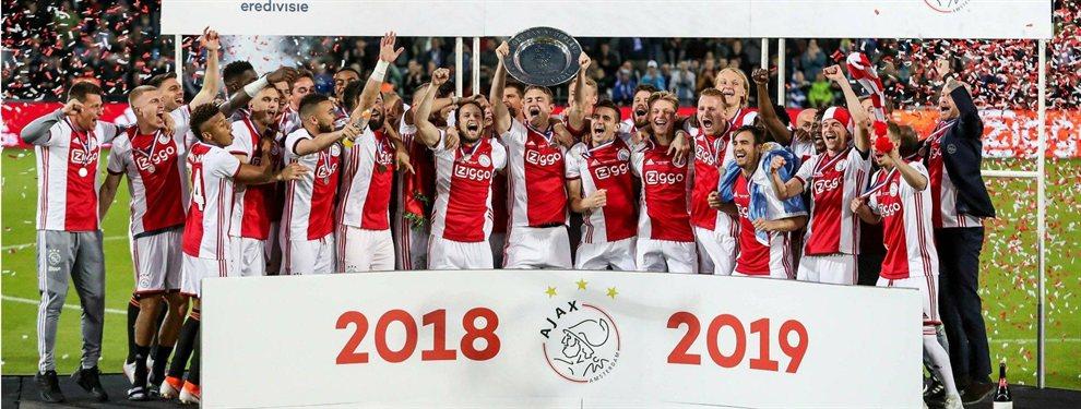El Ajax de Tagliafico, que hizo un gol, y Magallán se coronó campeón de la liga de Holanda.