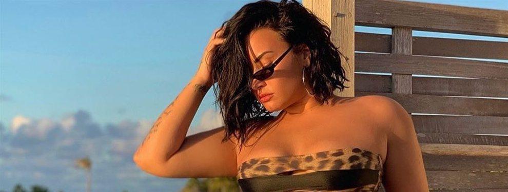 El bikini Demi Lovato a lo Kim Kardashian que lo peta en Instagram