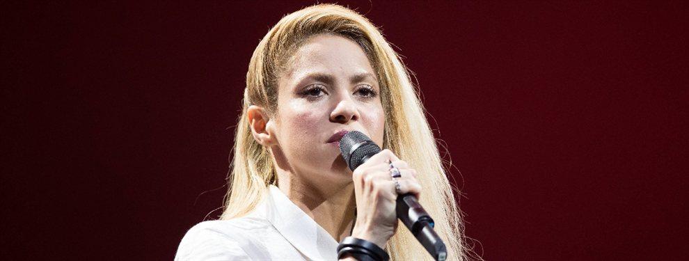 Shakira se quita la ropa (y se queda con una faja): la foto nunca vista