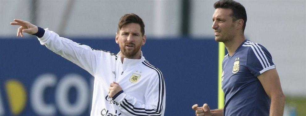 Lionel Scaloni entregó una lista preliminar de convocados de 36 futbolistas para la Copa América.